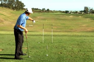 Golf Aiming Tips | How to Use Golf Alignment Sticks to Improve Your Golf Ball Flight Trajectory
