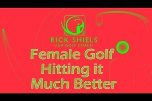 Female golfer hitting it much better | Rick Shiels PGA Golf Lessons