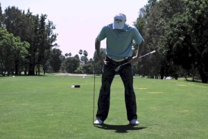 Golf Swing Drills To Improve Coil – Straighten Your Right Leg