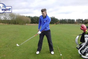 Golf Drill – Swing On Plane In The Backswing