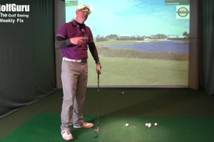 The Golf Swing Weekly Fix Upright Swing Plane and Weight Shift