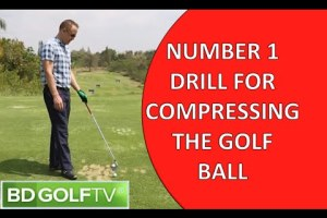 Number 1 Drill for Compressing the golf ball