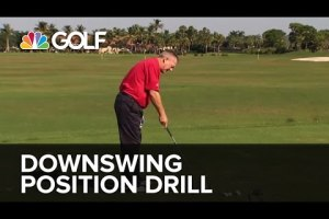 Downswing Position Drill – SwingFix | Golf Channel