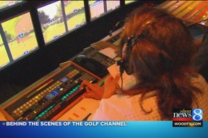 Behind the scenes of the Golf Channel