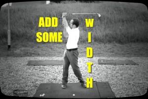 Create A Wide Golf Swing