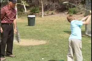 JUNIOR GOLF INSTRUCTION: Teaching kids golf anywhere