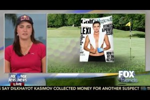 Lexi Thompson Has No Problem with Topless Golf Digest Cover