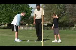 Teaching Golf Basics to Kids : Golf for Kids: Chipping Drills